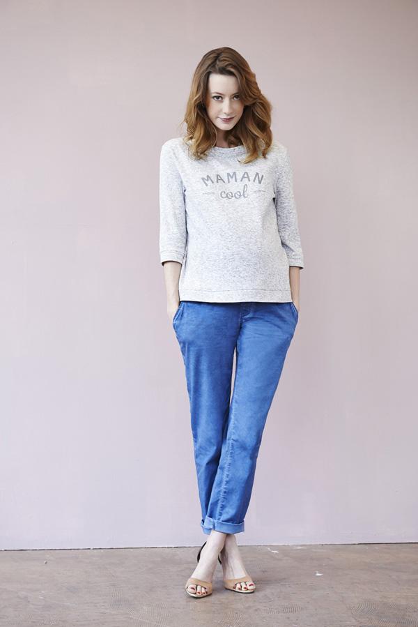 Websweat-maman-cool-gris---moi---moi-et-pantalon-chino-bleu-love2wait-89-et-69-99-euros-sur---moi---moi
