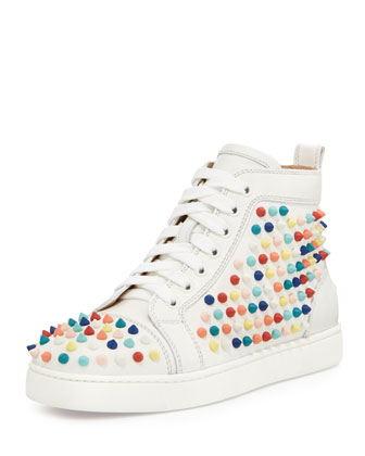Louboutin-louis-spikes-calfskin-high-top-sneaker-4